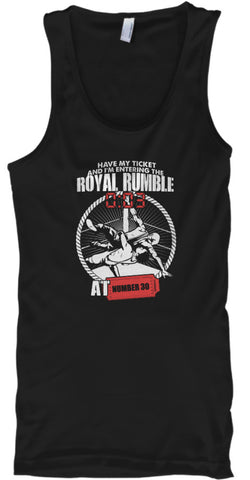 Ticket To Enter Wrestling Number Shirt - lkrseller, Tank Tops ,