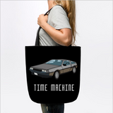 Time Machine Car Classic Movie Tote Bag - lkrseller shirts Tote Bag, t-shirts, hoodies, tank tops, custom