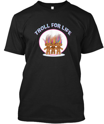 Troll For Life Funny Toy T-Shirt - lkrseller, Men's Shirts ,
