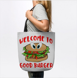 Welcome To Good Burger Funny Foodie Tote Bag - lkrseller shirts Tote Bag, t-shirts, hoodies, tank tops, custom