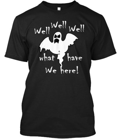Well Well What We Have Here Ghost Tee - lkrseller, Men's Shirts ,