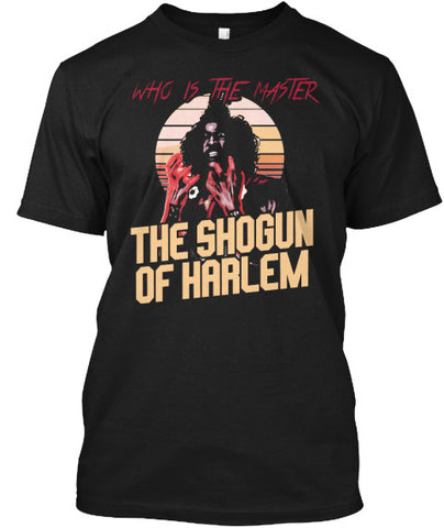 Who's the Master Shogun Last Tee Shirt - lkrseller, Men's Shirts ,