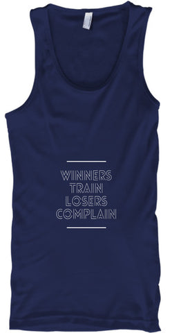 Winners Train Losers Complain Workout - lkrseller, Tank Tops ,