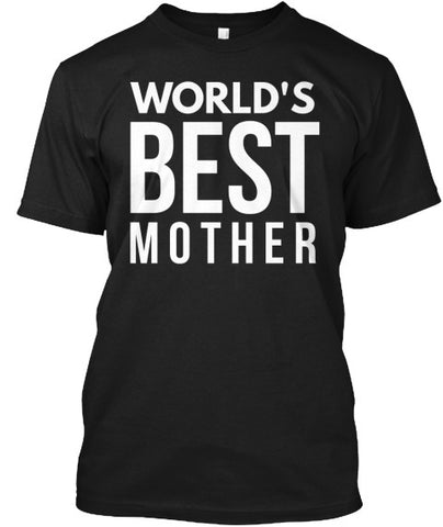 World's Best Mother Mom Mum T-Shirt - lkrseller, Men's Shirts ,
