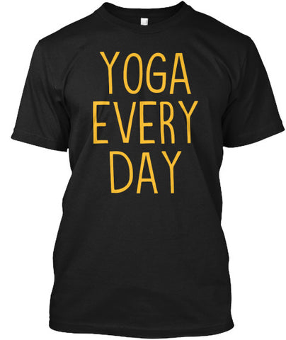 Yoga Every Day Workout Pose Fitness Tee - lkrseller, Men's Shirts ,