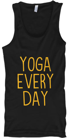 Yoga Every Day Workout Pose Fitness - lkrseller, Tank Tops ,