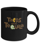 Tacos And Tequila Foodie and Drink Lover Coffee Mug - lkrseller, Mugs ,