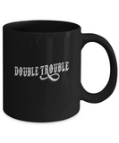 Double Trouble Awesome Coffee Mug - lkrseller, Mugs ,