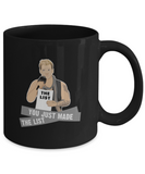 You Just Made The List Funny Wrestler Mug - lkrseller, Mugs ,
