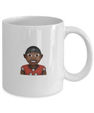Atlanta Falcon Headband Rise Up Julio Jones Bird Mug - lkrseller, Coffee Mug ,