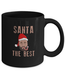 Santa The Best DJ Khaled Santa Clause Hip Hop Coffee Mug - lkrseller, Coffee Mug ,