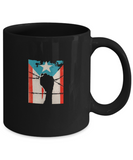 Puerto Rico Flag Strong Hand Palm Fuerza Drinking Coffee Mug - lkrseller, Coffee Mug ,