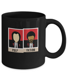 Pulp Fiction Polaroid Pictures Coffee Mug - lkrseller, Mugs ,