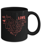Love Hearts I love You Lover Coffee Mug - lkrseller, Mugs ,