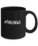 #Fakenews Funny Humor President News Quote Drinking Coffee Mug - lkrseller, Coffee Mug ,