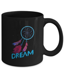 Dream Catcher Beautiful Feather Coffee Mug - lkrseller, Mugs ,