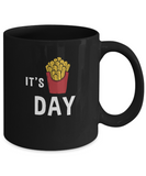 It's Fryday Friday Foodie Coffee Mug - lkrseller, Mugs ,