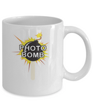 Photo Bomb Funny Explosion Picture Humor - lkrseller, Mugs ,