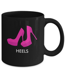 High Heels Emoji Tea and Coffee Mug - lkrseller, Mugs ,