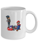 Cool Awesome Video Game Car Racing Coffee Mario Mug - lkrseller, Mugs ,