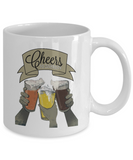 Cheers To Diversity Beers Drinking Mug - lkrseller, Mugs ,