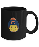 Chicago Fan Emoji for Football Lovers Drinking Coffee Mug - lkrseller, Coffee Mug ,