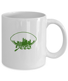 New York Football Gang Green Coffee Mug - lkrseller, Mugs ,