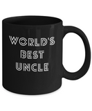 World's Best Uncle Cool Coffee Mug - lkrseller, Mugs ,