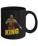 Cleveland Basketball King James Coffee Mug - lkrseller, Coffee Mug ,