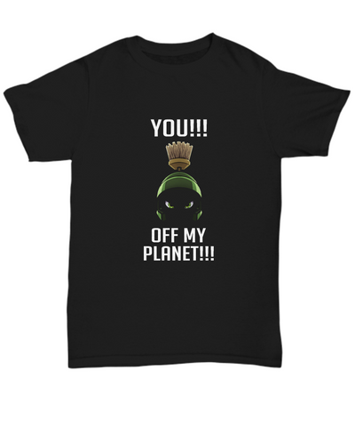 You Off My Planet Marvin the Martian Cartoons T-Shirt - lkrseller, Shirt / Hoodie ,