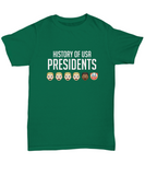 History Of USA Presidents Clown Face Trump T-Shirt - lkrseller, Shirt / Hoodie ,