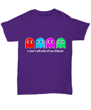 I Ain't Afraid Of No Ghost Gamer Funny T-Shirt - lkrseller, Shirt / Hoodie ,