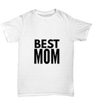 Best Mom Mother's Day Gift Mum T-Shirt - lkrseller, Women's Shirts ,