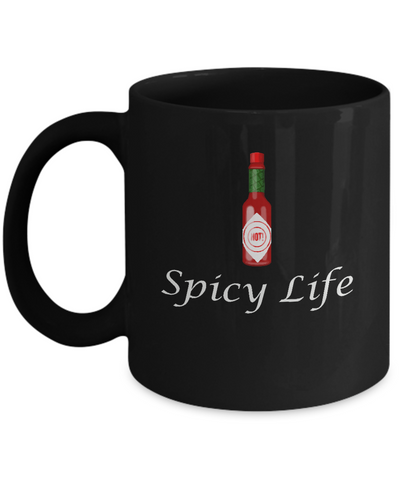 Spicy Life For Spice Food Lover Coffee Mug - lkrseller, Mugs ,