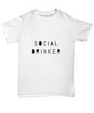 Social Drinker Drinking Weekend Party T-Shirt - lkrseller shirts Men's Shirts, t-shirts, hoodies, tank tops, custom