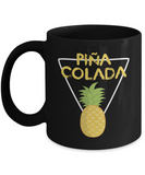 Pina Colada Pineapple Drinking Summer Coffee Mug - lkrseller, Mugs ,