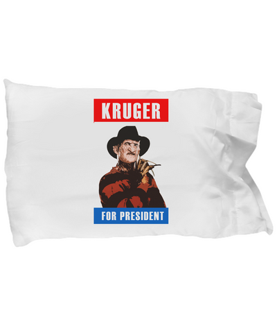 Kruger For President Cool Scary Halloween Bedding Pillow Case - lkrseller, Pillow Case ,
