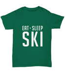 Eat Sleep Ski Sking For Slope Lovers and Fans T-Shirt - lkrseller, Shirt / Hoodie ,