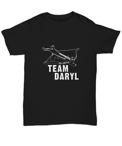 Team Daryl Crossbow TWD Walkers Zombie Weapon T-Shirt - lkrseller, Men's T-Shirts ,