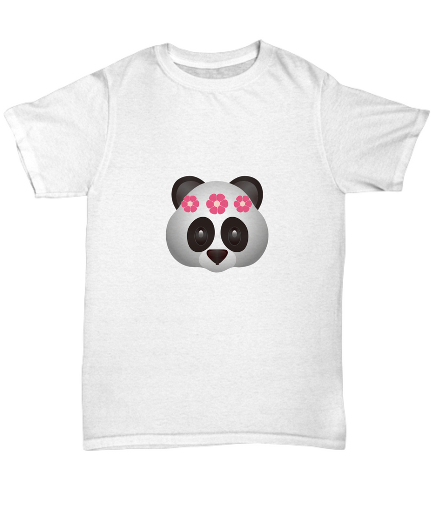 Panda Flower Crown Cute Animal T Shirt