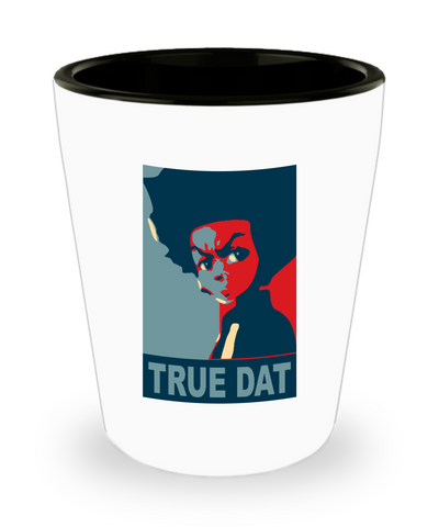 True Dat Boondocks Cartoon Drinking Shot Glass - lkrseller, Shot Glass ,