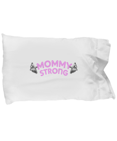Mommy Strong Fitness Workout Pillow Gift - lkrseller, Pillow Case ,