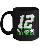 12 We Bring The Noise Seattle Defense Football Mug - lkrseller, Mugs ,