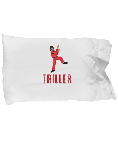 Triller MJ Dance Video Cool Bedding Pillow Case - lkrseller, Pillow Case ,