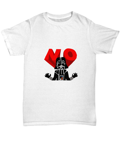 No Darth Vader Villain Bad Guy Emoji T-Shirt