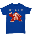 It's On Like Gorilla Retro Vintage Game T-Shirt - lkrseller shirts Shirt / Hoodie, t-shirts, hoodies, tank tops, custom