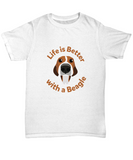 Life Is Better With A Beagle Dog Pet T-Shirt - lkrseller shirts Shirt / Hoodie, t-shirts, hoodies, tank tops, custom