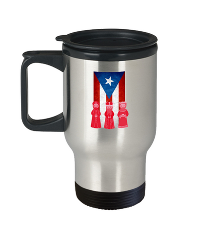 Puerto Rico 3 Kings Wise Man Day Travel Mug - lkrseller, Travel Mug ,