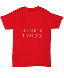 Washington Heights Uptown NYC 10033 New York T-Shirt - lkrseller, Shirt / Hoodie ,