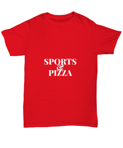 Sports And Pizza Foodie Fans T-Shirt - lkrseller, Shirt / Hoodie ,
